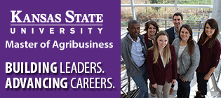 Kansas State University Master of Agribusiness - www.mab.ksu.edu - 785-532-4495
